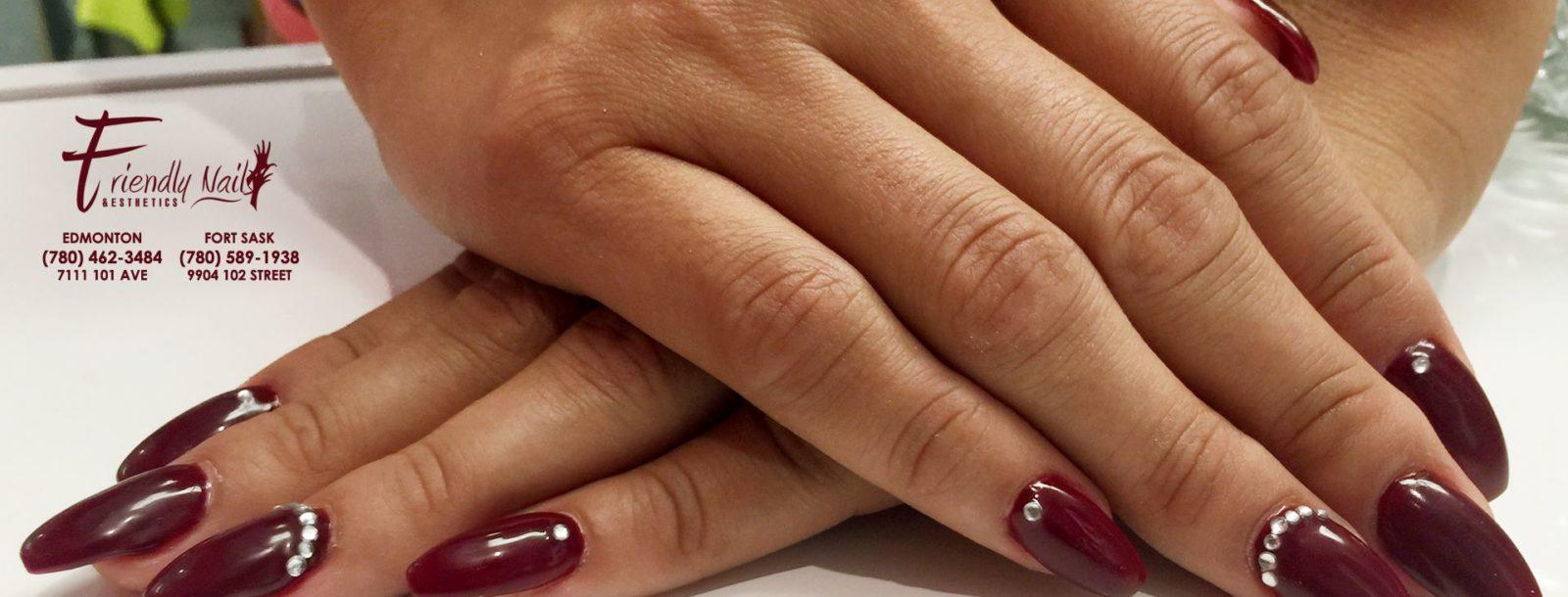 Gel Nails Friendly Nails Esthetics