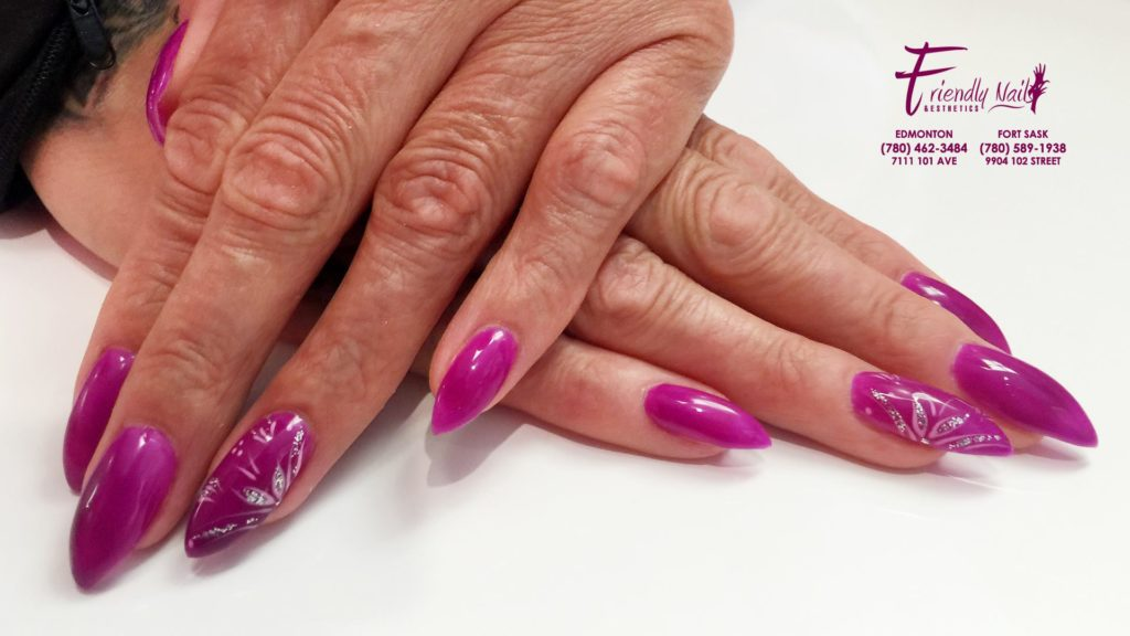 Funky Fill In Gel Nails Collection - Nail Art Ideas - morihati.com